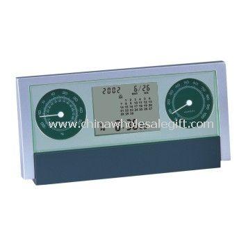 LCD Desk Clock