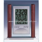LCD alarm clock with calendar and Digital thermometer images