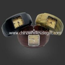 Wooden bangle Watch images