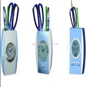 ABS Pen holder Clock images