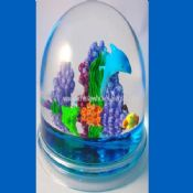 Oil into paperweights images