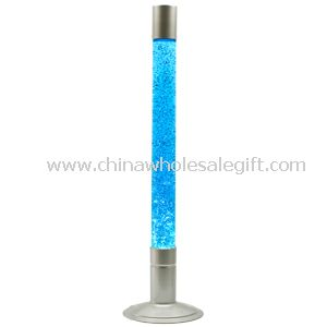 Floor glitter lamp glitter night light for Silver glitter floor lamp