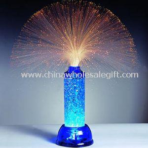 FIBER OPTIC & GLITTER LAMP