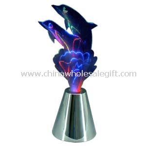 Led Fiber Optic Dolphin Lamp
