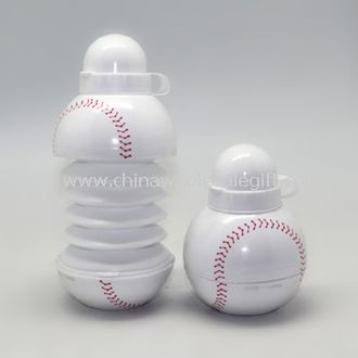 Collapsible Baseball Water Bottle