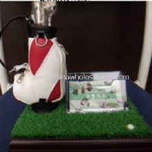 Golf Desk Pen holder with Name Card Holder images