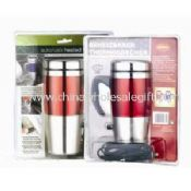 12v heated mug with PVC packing images