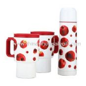 500ml vacuum flask and 2pc 14oz travel mug images
