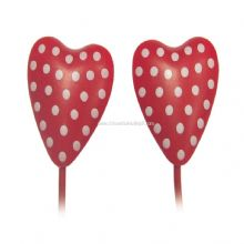 IN-EAR HEART-SHAPED STEREO EARPHONE images