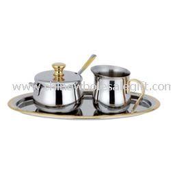 100 ml Sugar Pot & Spoon