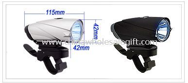5 LED Rainproof bicycle light images