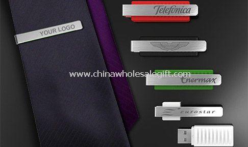 Tie Clip USB memory Disk