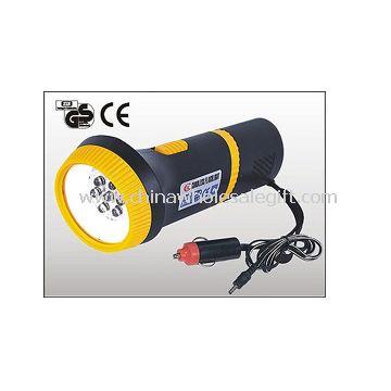 lanterna LED recarregável plástico 7pcs