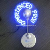 USB and Battery Operated Programmable ad fan images