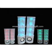 Colorful flash light portable speakers images