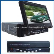 in-dash motorized TFT-LCD monitor /TV images