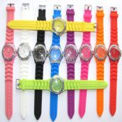 Diamond fashion silicon watch images
