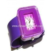 PVC band quartz watch images