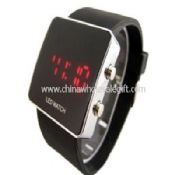 Silicon Men LED watch images