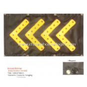 Banner warning light with magnet and hanging hole images