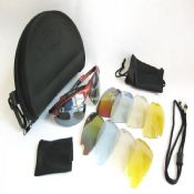 Replaceable glasses with Bag images