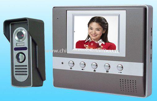 3.5 inch colour TFT LCD indoor unit  Video door phone