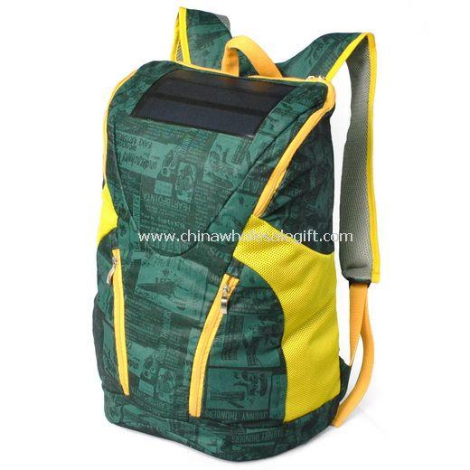 Solar mountaineering bag
