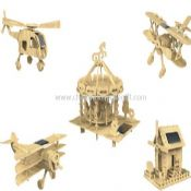 Solar wooden toys series images
