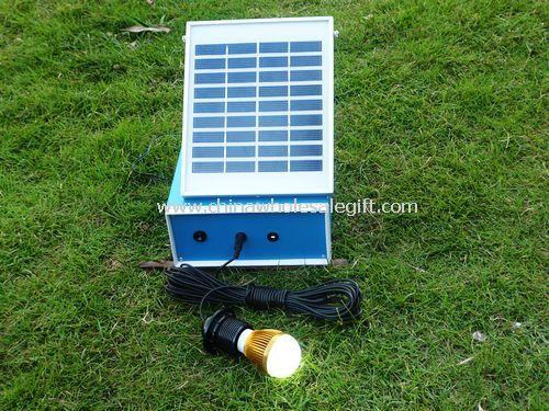 Solar power lighting