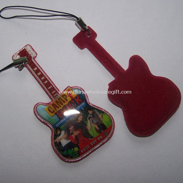 Guitar mobile phone cleaner