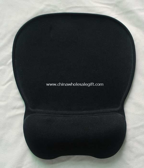 Gel mouse pad with wirst rest