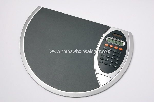 Hard PVC mouse pad with calculator