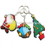 Christmas PVC Keychain images