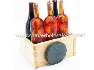 Wood Polyresin fridge Magnet