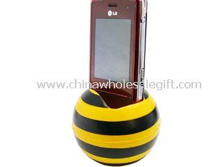 Ball mobile phone holder