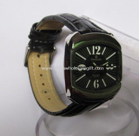 stianless steel case watch