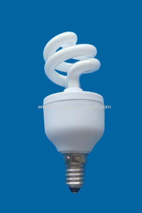 9 half spiral energy-saving lamp