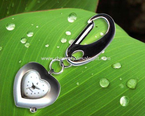 Heart shape hanging watch