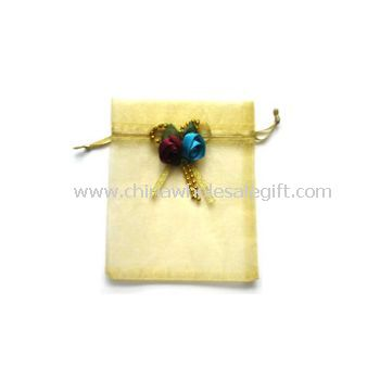 Organza Bag With Bowknot On The Top