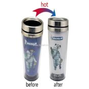 Gift hot change stainless steel cup images