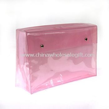 Cosmetic PVC Bag With Flap