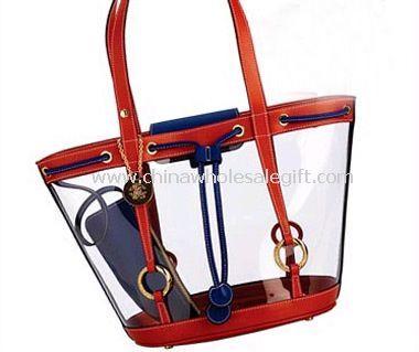 Drawstring PVC Lady Bag