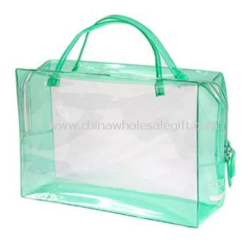 Zipped Hand PVC Bag