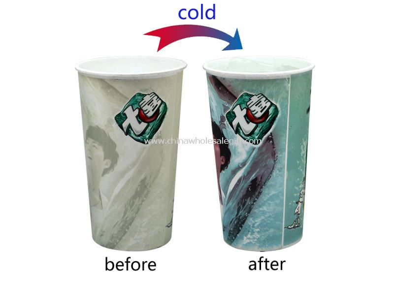 Cold Change Plastic Cup