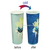 Cold color Change Plastic Cup images