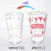 Glass cold change cup images