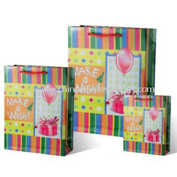 Paper Colorful Birthday Bags