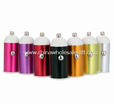 Aluminium alloy single USB car charger