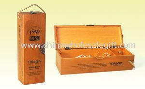 Nature Wooden Wine Boxes