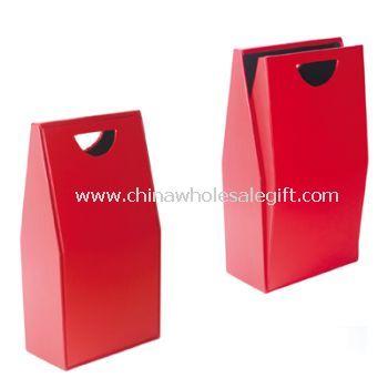 2PCS Deluxe PU Leather Wine Box